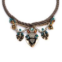 Natasha Rope Collar Necklace