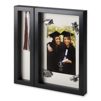 Photo Frame with Magnetic Tassel Holder Shadow Box - Perfect Graduation Gift