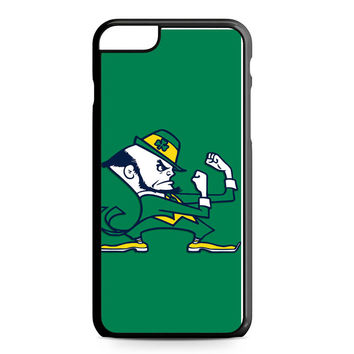 Notre Dame Fighting Irish Green iPhone 6 Plus Case