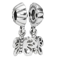 Pandora Best Friends Forever Butterfly Dangle