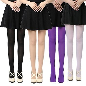 2018 HOT Popular 1 PC Women Lady Spring Summer Autumn Breathable Footed Thick Opaque Stockings Pantyhose Tights 8 Colors