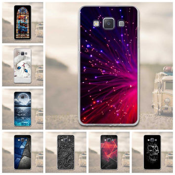 Phone Cover For Samsung Galaxy A5  Cases 3D Relief Soft Silicon Cover Case For Samsung Galaxy A5 2015 A500 A500F A500H Bags