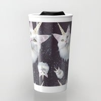 Unicorn Cat Travel Mug by Oh Monday