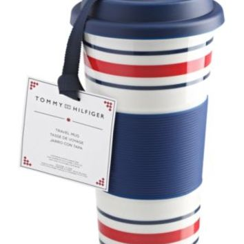 Tommy Hilfiger Gifts Collection Porcelain Travel Mug | macys.com