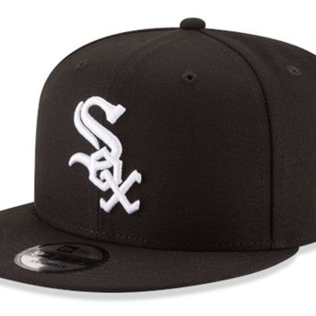 Mens Chicago White Sox 9FIFTY Basic Snapback By New Era