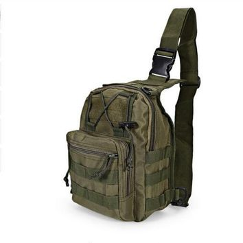 Outdoor Nature Outdoor Sport Bag Military Tactical Backpack Tactical Messenger Shoulder Bag Oxford Camping Travel Hiking Trekking Runsacks Bag