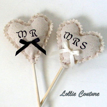Wedding Photo Props - MR & MRS  signs - Wedding Signs