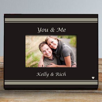 You & Me Personalized Picture Frame