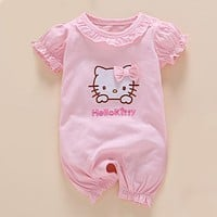 Infant Girls Hello Kitty One Piece Set