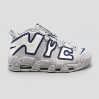 HCXX NIKE - Men - Air More Uptempo NYC QS - Wolf Grey/White/Navy