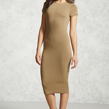 Contemporary Stretch-Knit Dress