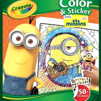 Crayola Color & Sticker Book