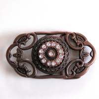 Vintage Bronze Belt Buckle on Luulla