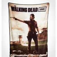 The Walking Dead Rick Grimes Fleece Blanket