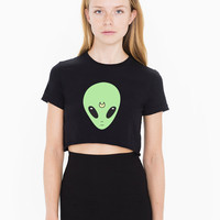 Sailor Alien crop croptop cropped t-shirt