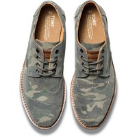 Camo Canvas Men's Brogues