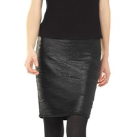 Textured Double Knit Sleeveless Shell | Max Studio Official by Leon Max | MaxStudio.com