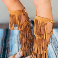 Full of Fringe Gladiator Sandal
