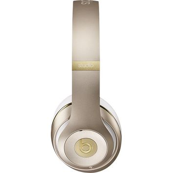 Beats by Dr. Dre - Beats Studio Wireless Over-the-Ear Headphones - Gold