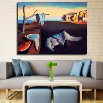 Salvador Dali Surrealism Abstract Oil Painting Canvas Art