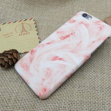 womens pink marble best protection iphone 7 7 plus iphone 6 6s plus iphone 5s se case personal tailor cover gift box  number 1