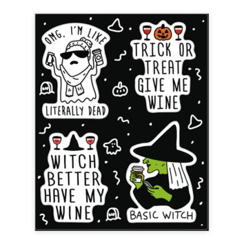 BASIC HALLOWEEN STICKER SHEET STICKER