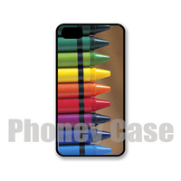 Iphone 5 or 5s Colorful Crayons Personalized Cell Phone Case #104