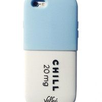 Chill Pill 3D iPhone Case (Blue)