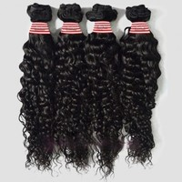 32inch Malaysian Hair, Free Shipping Discount Hair Extension /High Quality 100% Real Human Hair 32 inch Deep Curly Virgin Malaysian Remy Hair - Micvirginhair.com