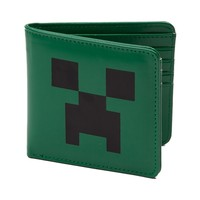 Minecraft Creeper Bi-Fold Wallet