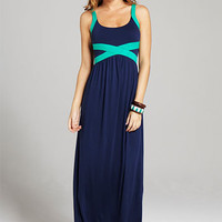 Carlina Knit Maxi Dress at Alloy