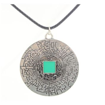 New Style The Maze Runner Retro Rope Leather Pendant Necklace