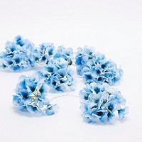 Hydrangea Flower String Lights in Blue - Urban Outfitters