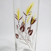 Vintage Wheat Glass