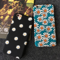 Fashion creative little daisy mobile phone case for iphone 5 5s SE 6 6s 6Plus 6S Plus+ Nice gift box!