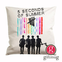 5 Seconds of Summer 5SOS Band Cushion Case / Pillow Case