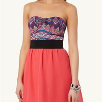 Tribal Sweetheart Tube Dress