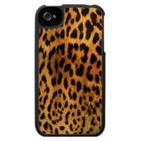 Leopard Body Fur Skin iPhone4 Case Cover iphone 4 from Zazzle.com