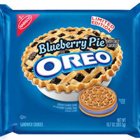 LIMITED EDITION Nabisco Oreo Blueberry Pie Sandwich Cookies Limited Edition 10.7oz New
