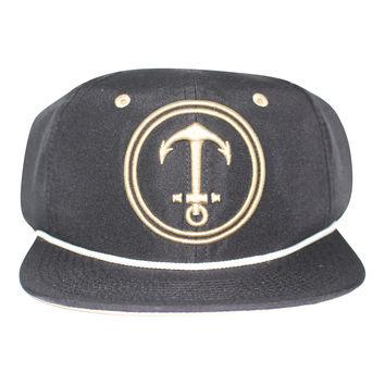 Upside Down Anchor Snapback Hat Yacht From Dicks Cottons