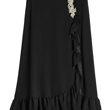 Midi Frill Skirt with Embellishment - Christopher Kane | WOMEN | KR STYLEBOP.COM
