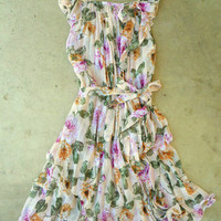 Blooming Rose Garden Dress [3007] - $30.60 : Vintage Inspired Clothing & Affordable Summer Dresses, deloom | Modern. Vintage. Crafted.