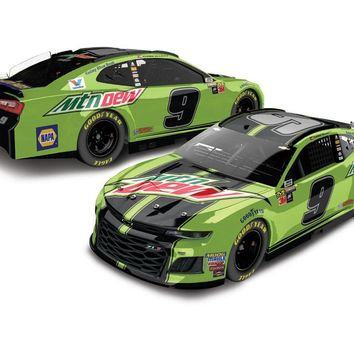Chase Elliott 2018 #9 Mountain Dew ZL1 Camaro Chrome 1:24 ARC - PRE-ORDER