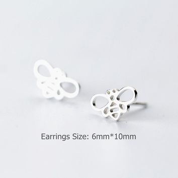 Shunyun Gold/Silver Plated Honey Bee Earrings
