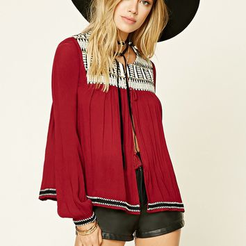 Ornate Embroidered Cardigan