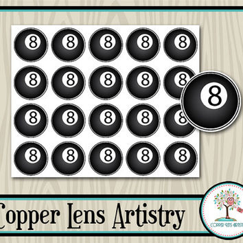 8 Ball, Pool Hall, Planner Stickers, Pool Stickers, Day Planner, Weekly Planner, Calendar, Planner Accessories, Scrapbook, Embellishment
