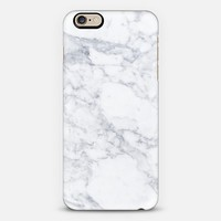 Marble white iPhone 6 case by Fauzi Putra | Casetify