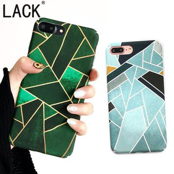 LACK Newest Geometric Graphic Pattern Case For iPhone7 Phone Cases For iPhone 7 7Plus Full protection PC Colorful Back Cover