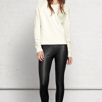 Rag & Bone - Danny Leather Legging, Black Lthr