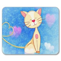 Cute Love Cat Mousemat: Dizzyness